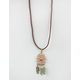 FULL TILT Suede Dreamcatcher Necklace