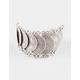 ISABELLA RAE Silver Gypsy Bracelet