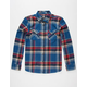 ELEMENT Boondock Flex Mens Flannel Shirt