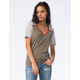 FULL TILT Essential Womens Varsity Tee