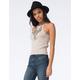 FULL TILT Essential Womens Ribbed Sweater Tank