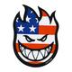 SPITFIRE Flaghead Sticker