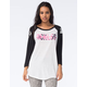 YOUNG & RECKLESS Come Thru Womens Raglan Tee