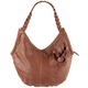 Faux Leather Flower Handbag