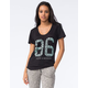 YOUNG & RECKLESS 86 Geometry Womens Scoop Neck Tee