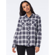 YOUNG & RECKLESS Freebase Womens Plaid Shirt
