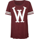 WESC Stickall Womens Oversized Tee