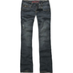 HYDRAULIC Pieced Flap Womens Jeans