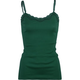 FULL TILT Womens Lace Trim Cami