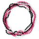 FULL TILT 45 3-Piece Plastic Bead Necklace Set