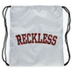 YOUNG & RECKLESS Block Cinch Sack