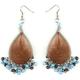 FULL TILT Thread & Bead Earrings
