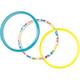 FULL TILT 3 Piece Plastic Bangle Bracelet Set