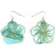 FULL TILT Ombre Shell Flower Earrings