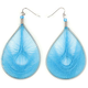 FULL TILT Oval Web Earrings