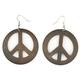 FULL TILT Peace Sign Earrings