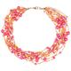 FULL TILT 10 Row Seed Bead 16 Necklace