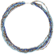 FULL TILT Multi Row Seed Bead 28 Necklace