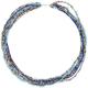 FULL TILT Multi Row Seed Bead 28 Necklace