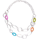FULL TILT Circle/Shell Link 27 Necklace