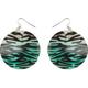 FULL TILT Zebra Shell Earrings