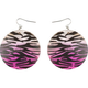 FULL TILT Zebra Shell Earrings