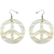 FULL TILT Cutout Peace Earrings