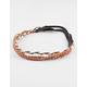 FULL TILT 3 Piece Braid Beaded Headbands