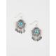 FULL TILT Stone Fringe Earrings