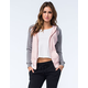FULL TILT Womens Color Block Hoodie