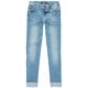 CELEBRITY PINK Wide Cuff Skinny Jeans