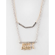 FULL TILT 2 Row Bead/Bar Necklace