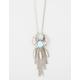 FULL TILT Turquoise Fringe Necklace