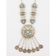 FULL TILT Fringe Medallion Necklace