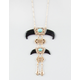 FULL TILT Upside Down Horn Pendant Necklace