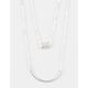 FULL TILT 2 Row Rhinestone/Bar Necklace