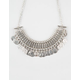 FULL TILT Wide Statement Coin Necklace