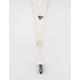 FULL TILT 3 Row Triangle/Elephant/Crystal Necklace