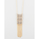 FULL TILT Long Chevron Fringe Necklace
