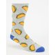 BLUE CROWN Taco Mens Crew Socks