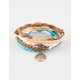 FULL TILT 5 Piece Love/Leaf/Tree Bracelets