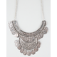 FULL TILT Double Layer Coin Statement Necklace