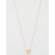 FULL TILT Dainty Square Necklace