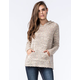WHITE CROW Moon Canyon Womens Knit Hoodie