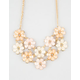 FULL TILT 10 Flower Statement Necklace