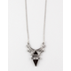 FULL TILT Long Double Triangle Necklace