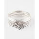 FULL TILT 5 Piece Charm Bangle Set