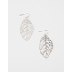 FULL TILT Leaf Cutout Earrings