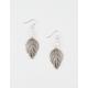 FULL TILT Crystal Leaf Earrings