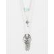 FULL TILT 3 Row Turquoise/Fringe Necklace